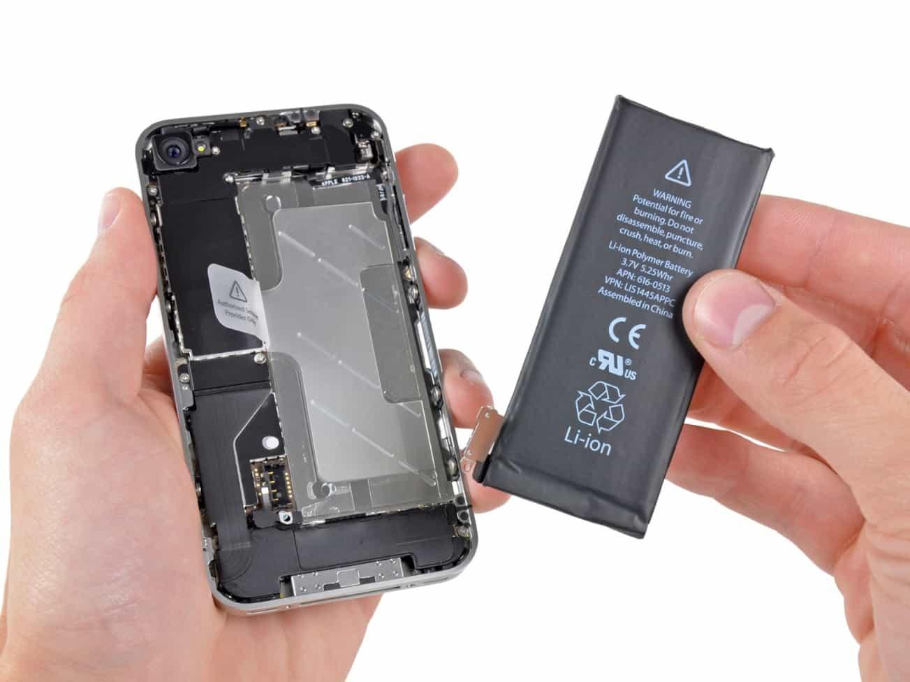 заменить аккумулятор в телефоне